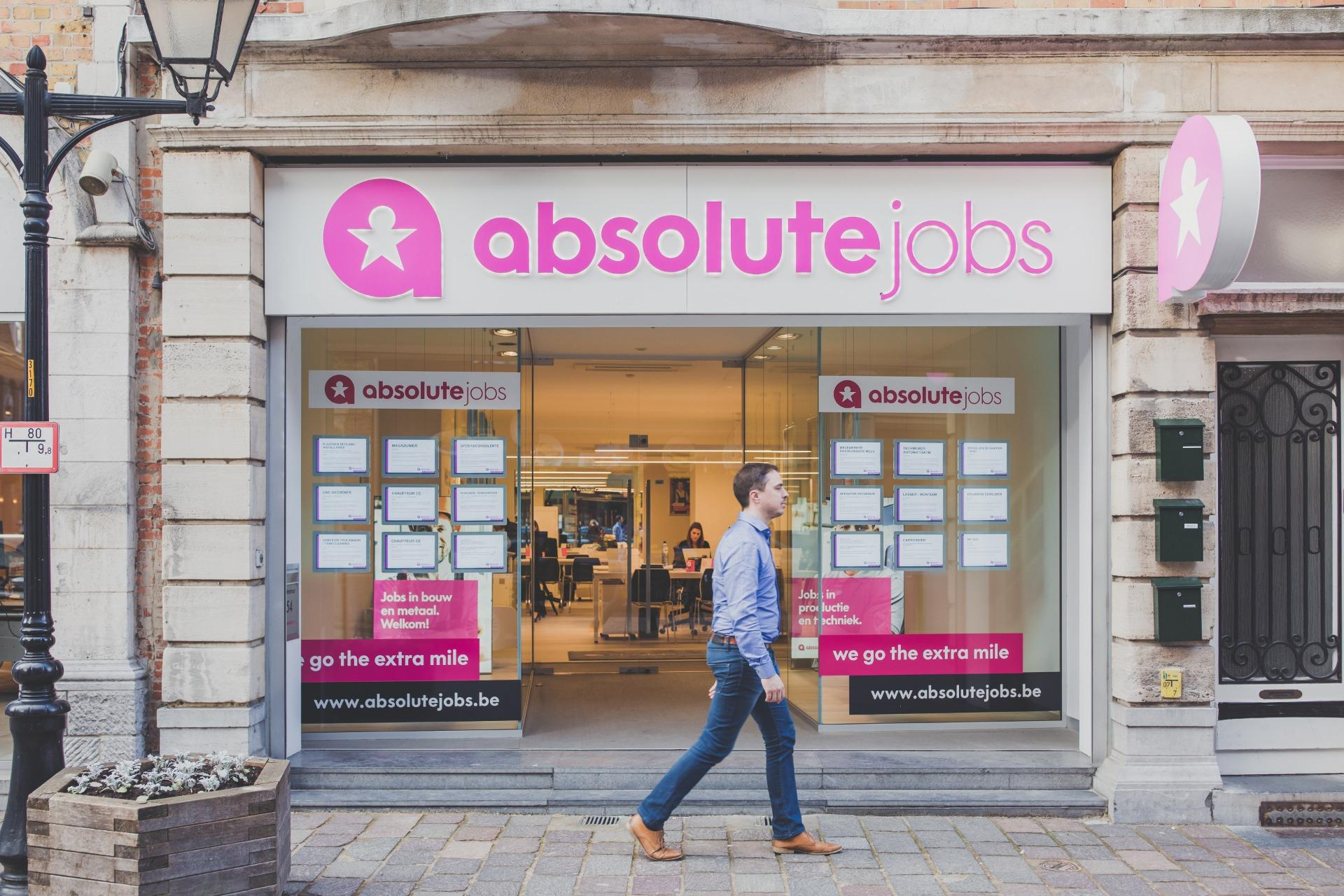 absolute jobs Ieper