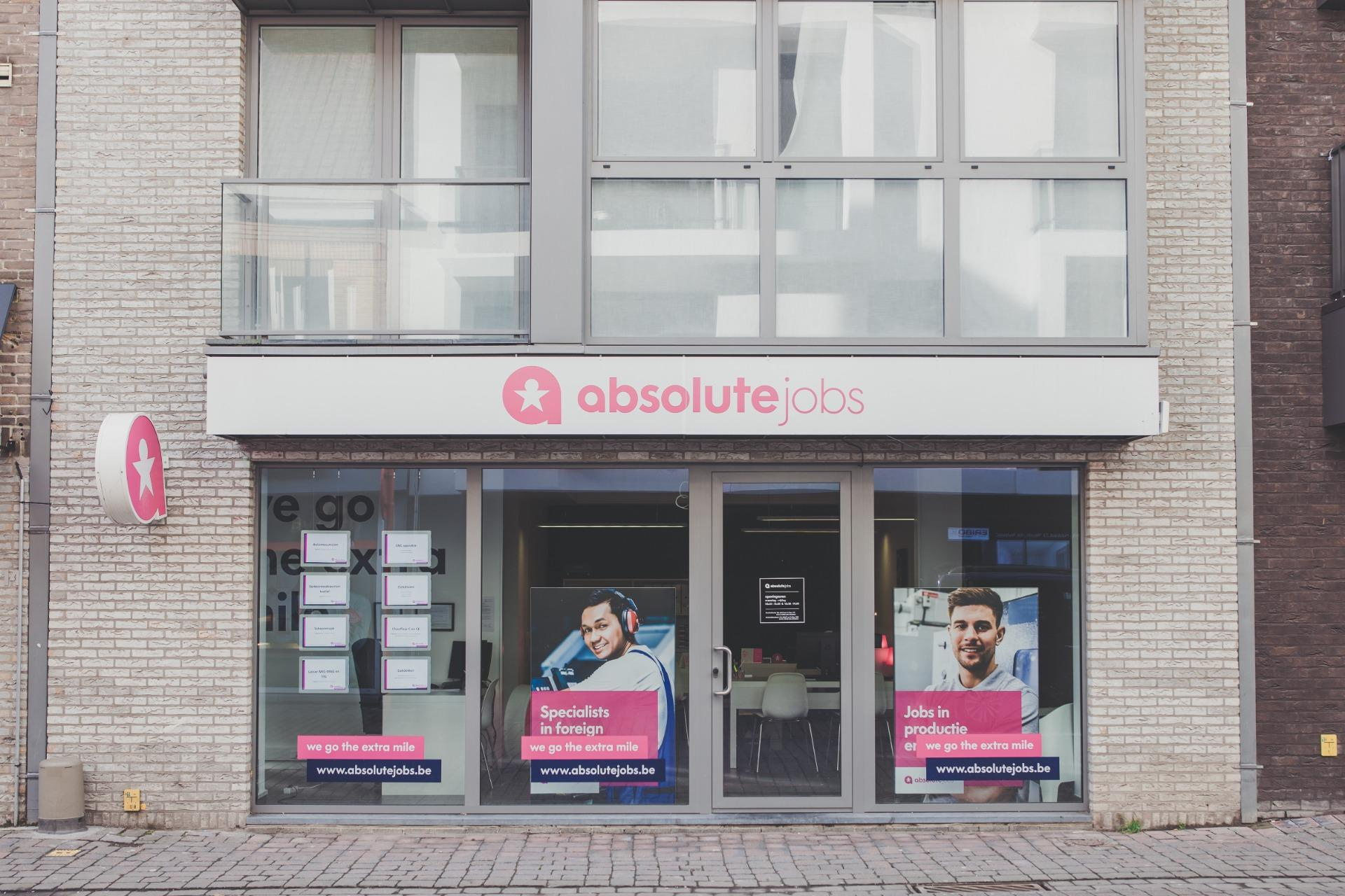 absolute jobs Waregem