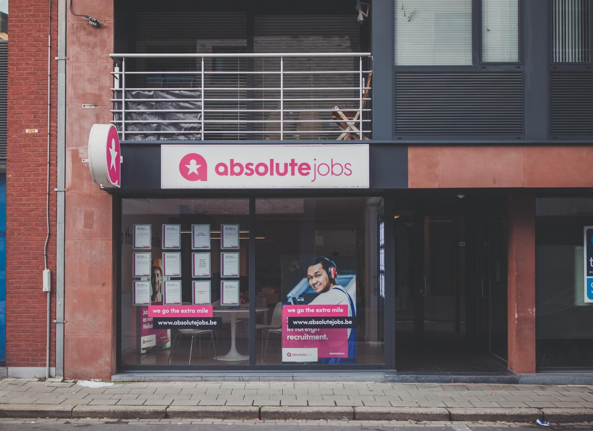 absolute jobs Roeselare